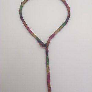 Betsey Johnson New Bright Multi-Camo Snake Necklac